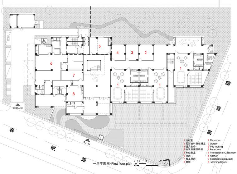 上海华东师范大学第二附属中学前滩学校平面图7