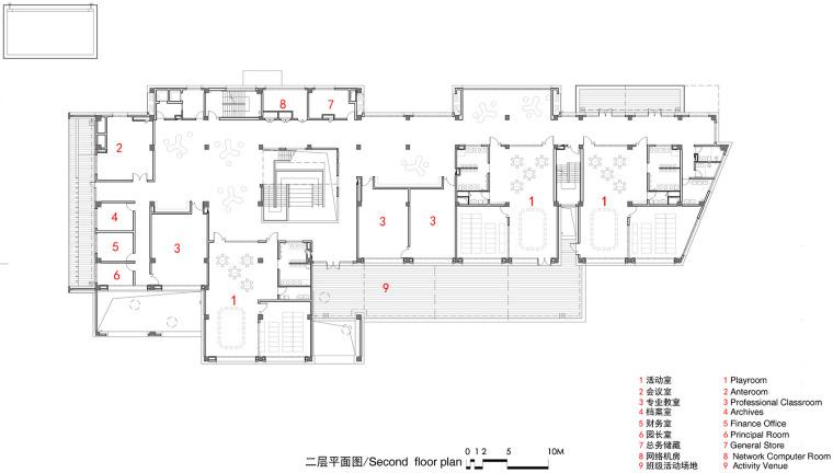 上海华东师范大学第二附属中学前滩学校平面图8