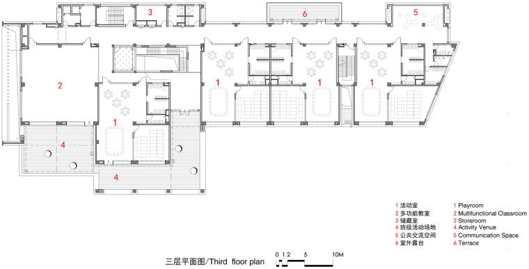 上海华东师范大学第二附属中学前滩学校平面图9