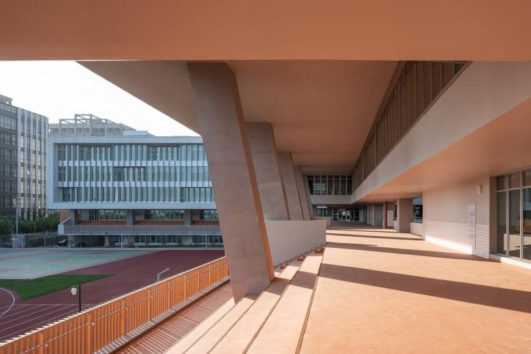 上海华东师范大学第二附属中学前滩学校外部实景图23
