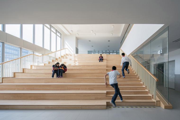 上海华东师范大学第二附属中学前滩学校内部实景图11