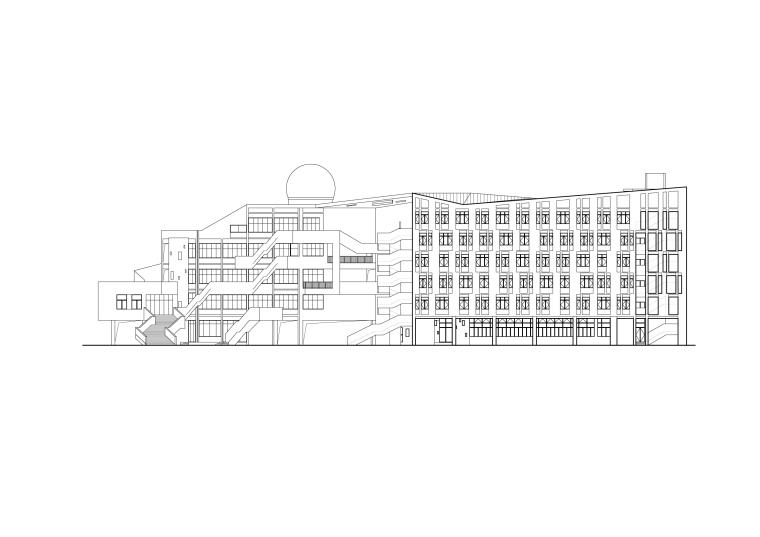 乐清市育英寄宿学校小学部二期工程-m6 东立面图.jpg