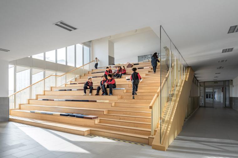 上海华东师范大学第二附属中学前滩学校内部实景图12
