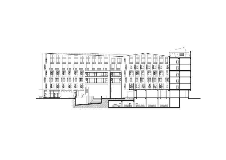 乐清市育英寄宿学校小学部二期工程-m8 1-1剖立面图.jpg
