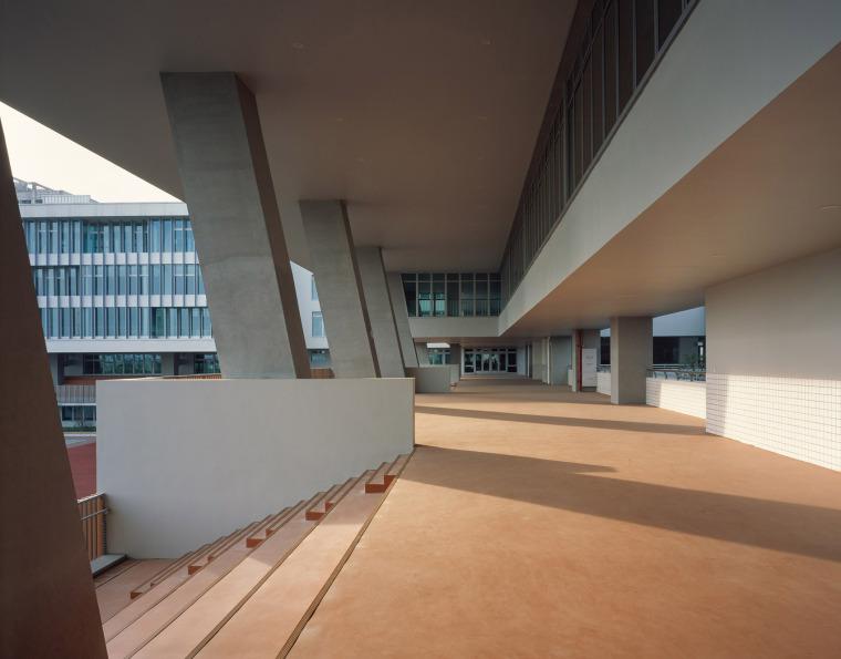 上海华东师范大学第二附属中学前滩学校外部实景图25