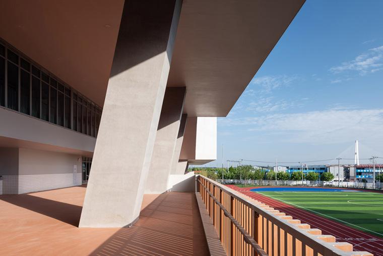 上海华东师范大学第二附属中学前滩学校外部实景图26