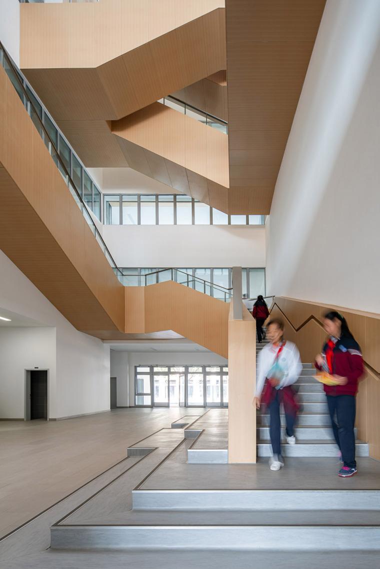 上海华东师范大学第二附属中学前滩学校内部实景图13