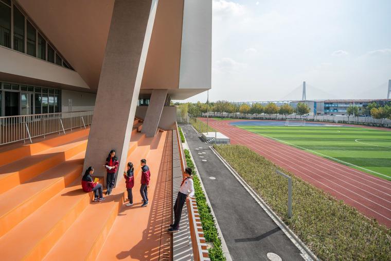 上海华东师范大学第二附属中学前滩学校外部实景图28