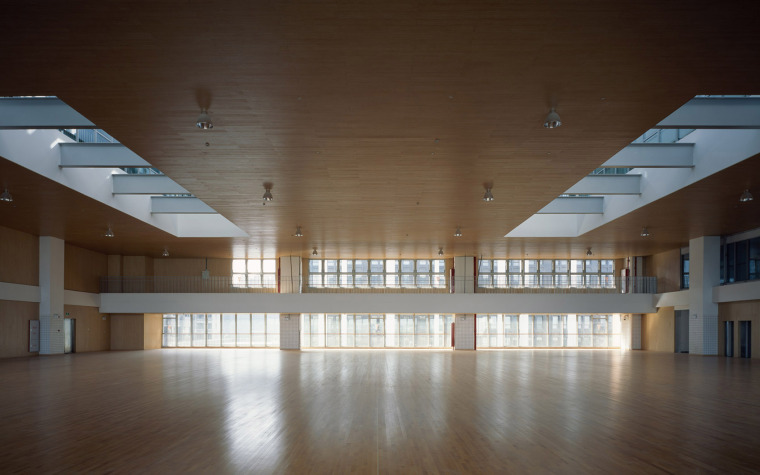 上海华东师范大学第二附属中学前滩学校内部实景图20