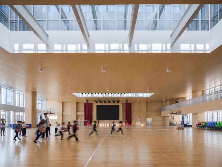 上海华东师范大学第二附属中学前滩学校内部实景图21