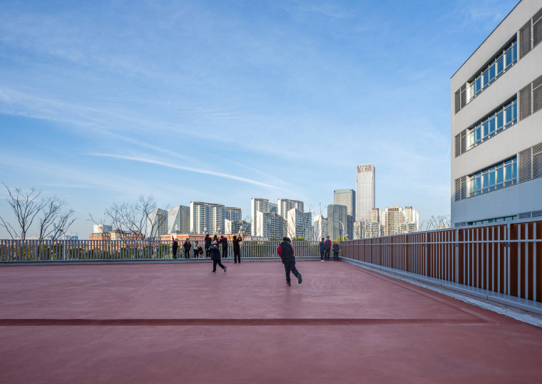 上海华东师范大学第二附属中学前滩学校外部实景图32