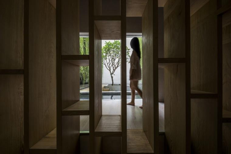 """越南TanDinh住宅,简居于""""桥上""""_14"""