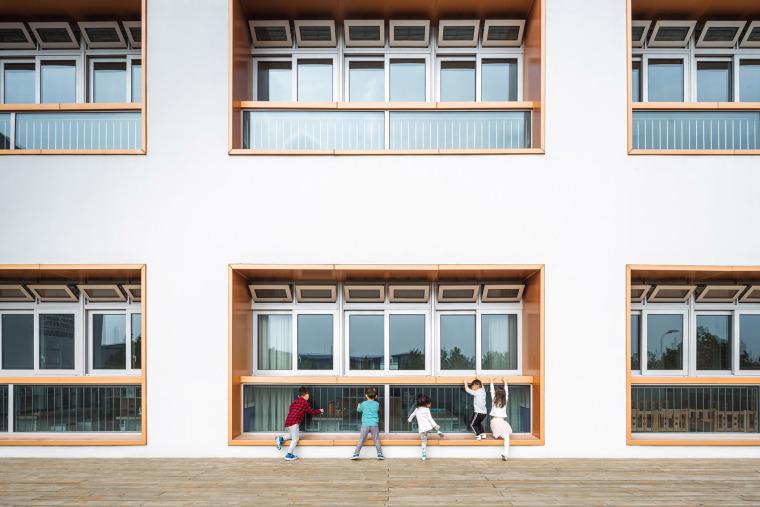 上海华东师范大学第二附属中学前滩学校外部实景图37