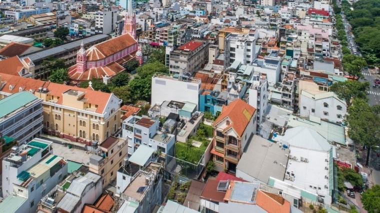 """越南TanDinh住宅,简居于""""桥上""""_23"""