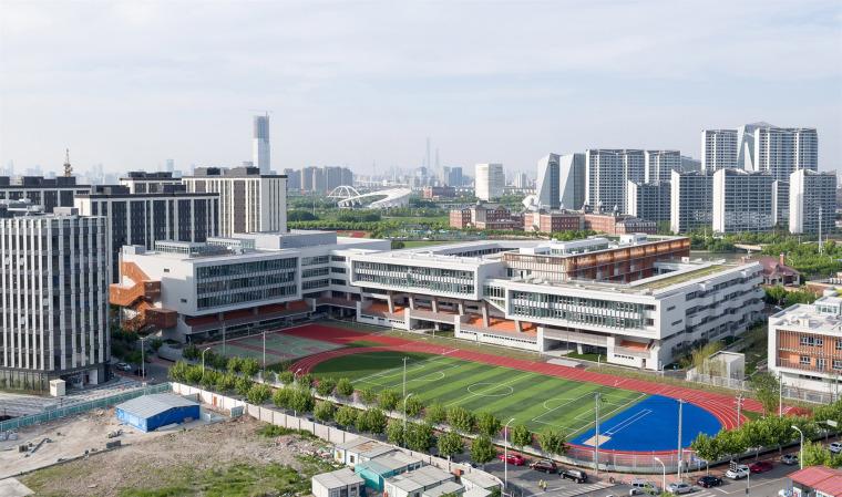 上海华东师范大学第二附属中学前滩学校外部实景图2