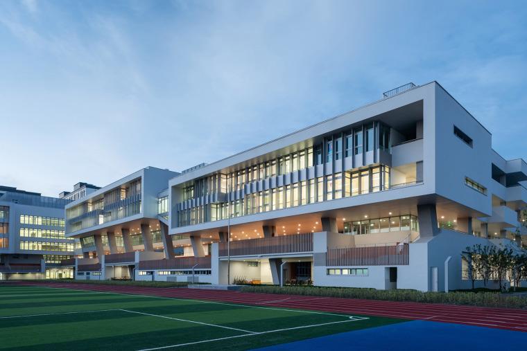 上海华东师范大学第二附属中学前滩学校外部实景图12