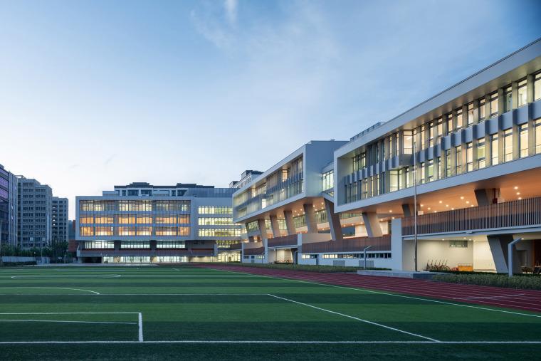 上海华东师范大学第二附属中学前滩学校外部实景图13