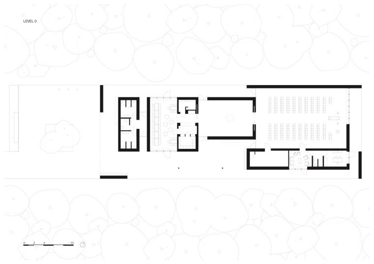 荷兰洛恩馆平面图1