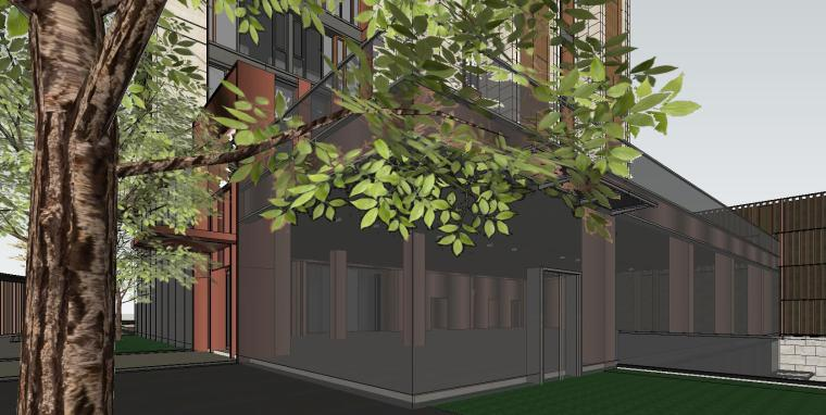 [上海]知名企业现代风启动区建筑模型设计-知名企业现代风启动区建筑模型设计 (5)