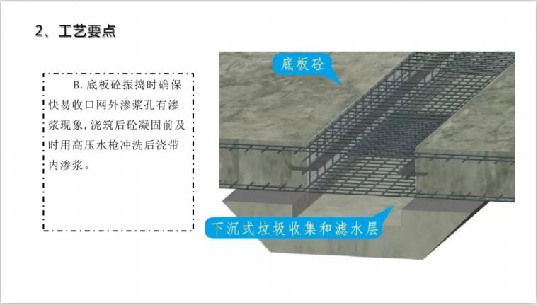 城建建筑工业BIM三维图解(134页)-底板后浇带浇筑