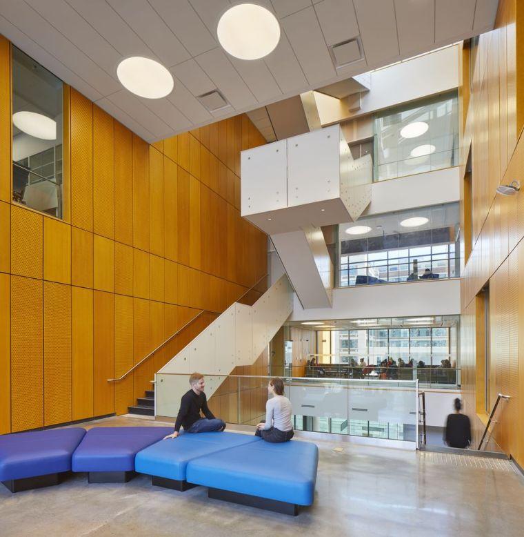 瑞尔森大学达芙妮考克威尔健康科学中心内部实景图3