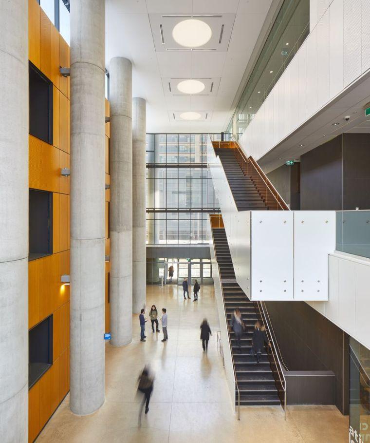 瑞尔森大学达芙妮考克威尔健康科学中心内部实景图4