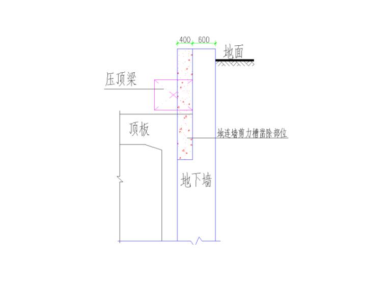 盖挖法车站主体盖板施工技术交底二级-地连墙剪力槽凿除