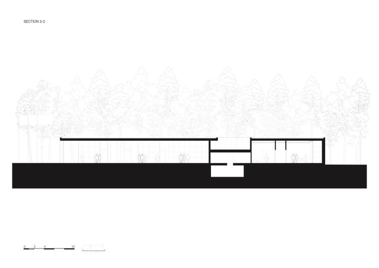 荷兰洛恩馆剖面图2