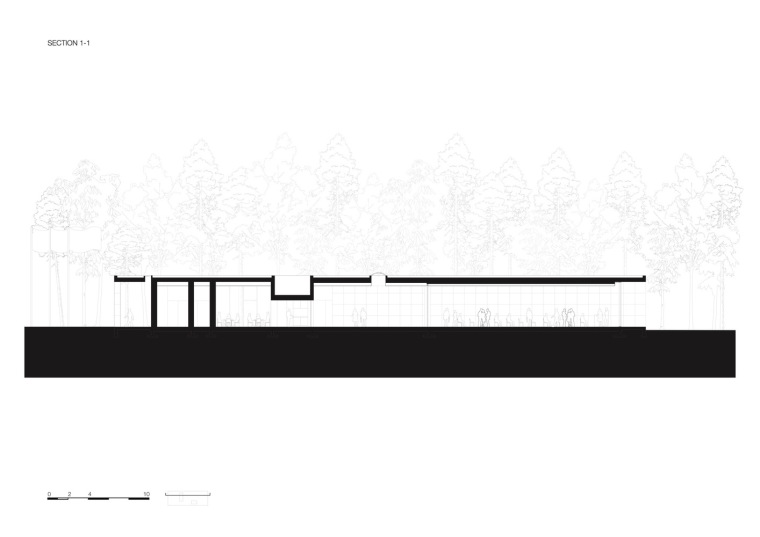 荷兰洛恩馆剖面图1