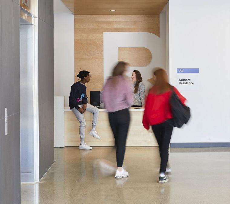 瑞尔森大学达芙妮考克威尔健康科学中心内部实景图10
