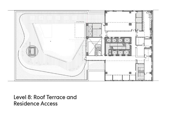 瑞尔森大学达芙妮考克威尔健康科学中心平面图1