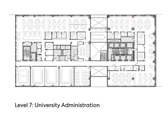 瑞尔森大学达芙妮考克威尔健康科学中心平面图2
