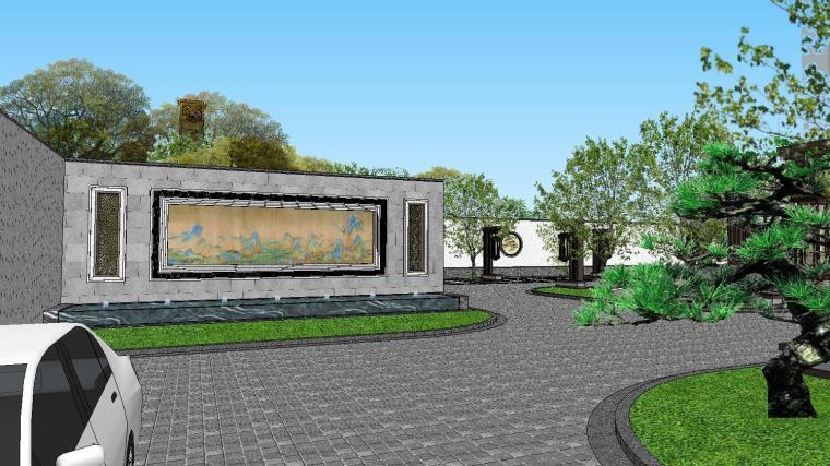 [陕西]中式风格示范区建筑模型设计-中式风格示范区建筑模型设计 (8)