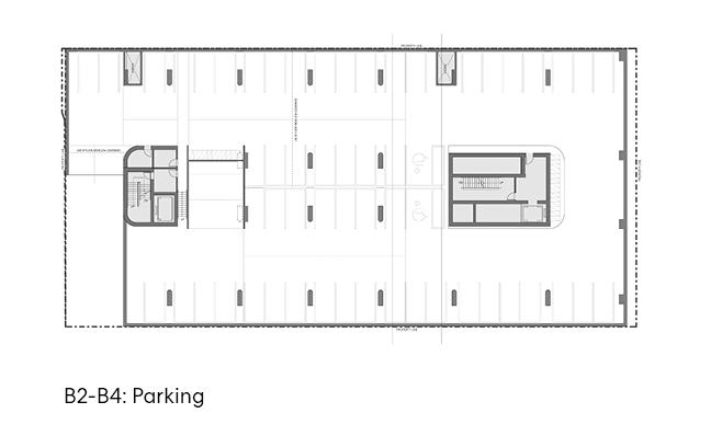 瑞尔森大学达芙妮考克威尔健康科学中心平面图3