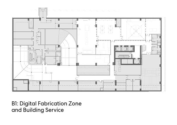 瑞尔森大学达芙妮考克威尔健康科学中心平面图5