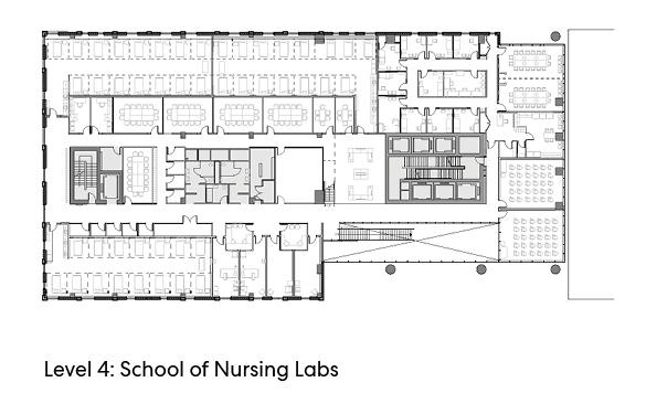 瑞尔森大学达芙妮考克威尔健康科学中心平面图7
