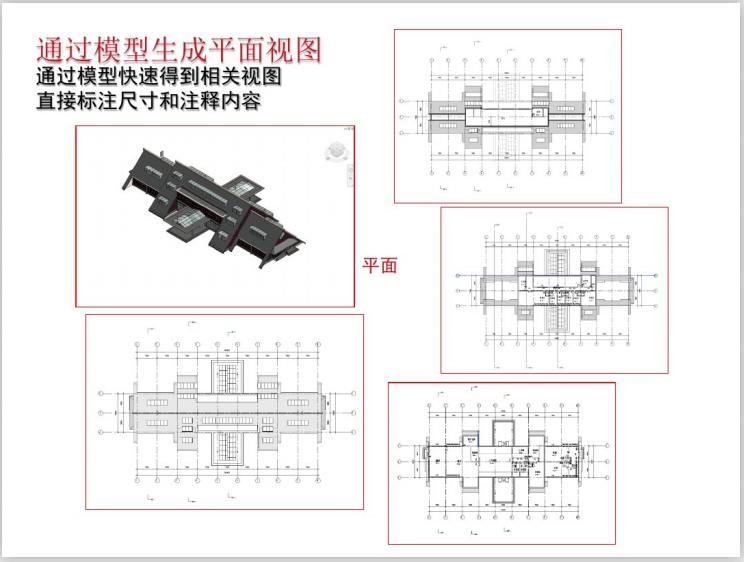 基于BIM技术的建筑设计(107页)-模型生成平面视图