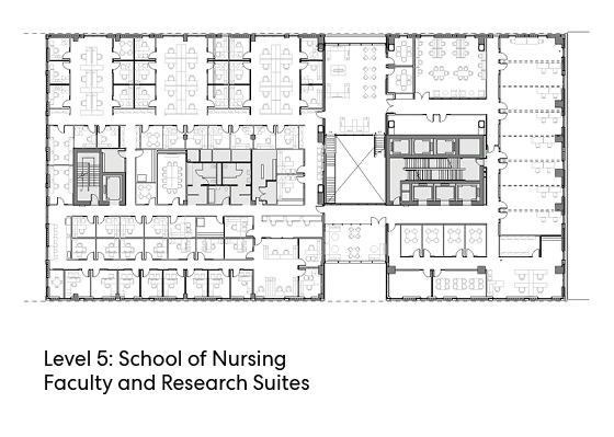 瑞尔森大学达芙妮考克威尔健康科学中心平面图8
