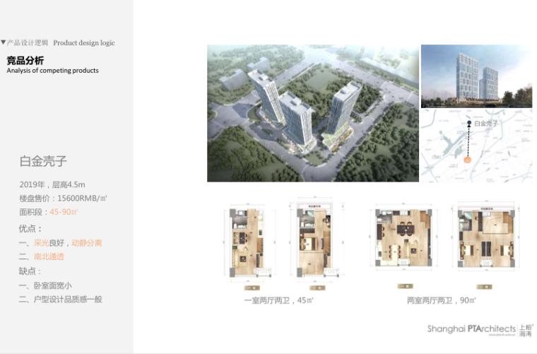 武汉某创塔子湖高层住宅_公寓塔楼方案文本-竞品分析