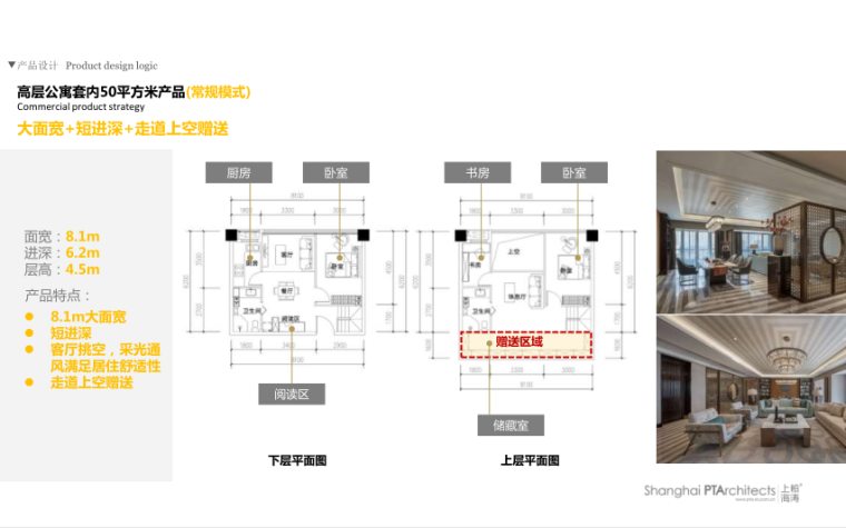 武汉某创塔子湖高层住宅_公寓塔楼方案文本-高层公寓套内50平方米产品