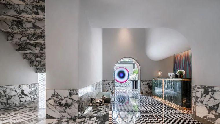 上海黑石M+酒店室内实景图1