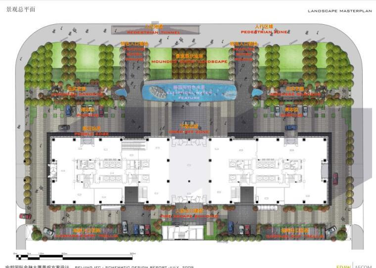 知名企业现代风格商业办公广场景观方案设计 (2)