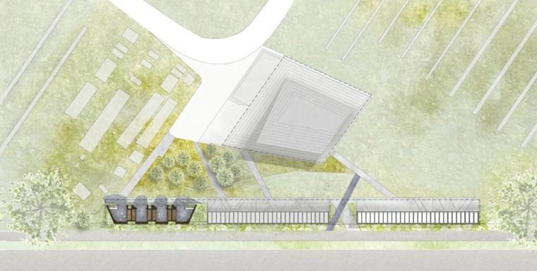 澳大利亚Werribee陵墓扩展平面图1