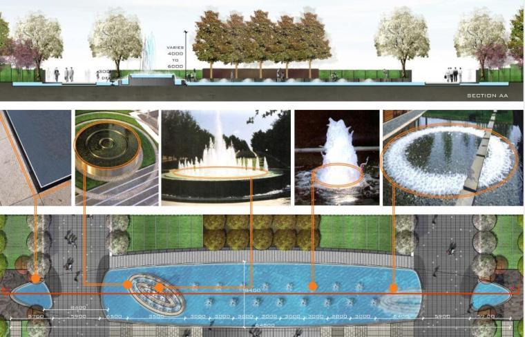 知名企业现代风格商业办公广场景观方案设计 (8)