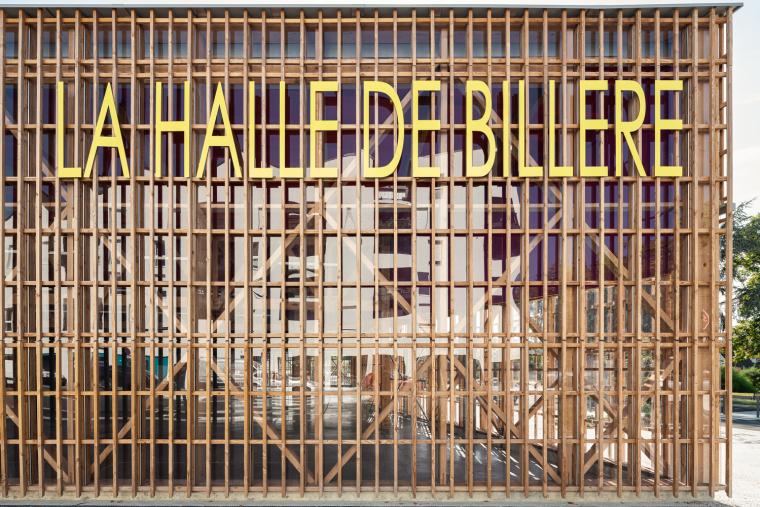 法国Billère农贸市场外部实景图3