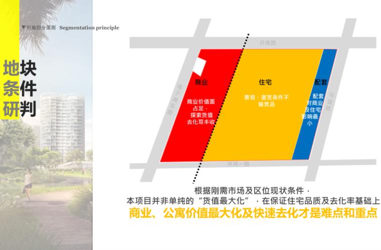 武汉某创塔子湖高层住宅_公寓塔楼方案文本-地块条件研判