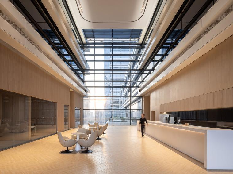 广州唯品会新一代办公空间内部实景图2