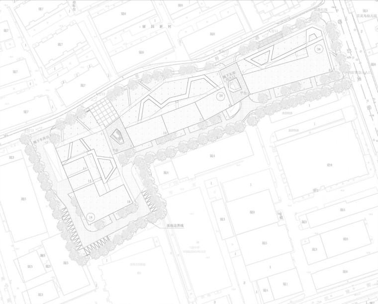 上海黄浦区五里桥路公租房平面图