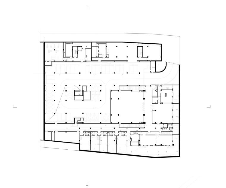 上海浦东国庆寺平面图1