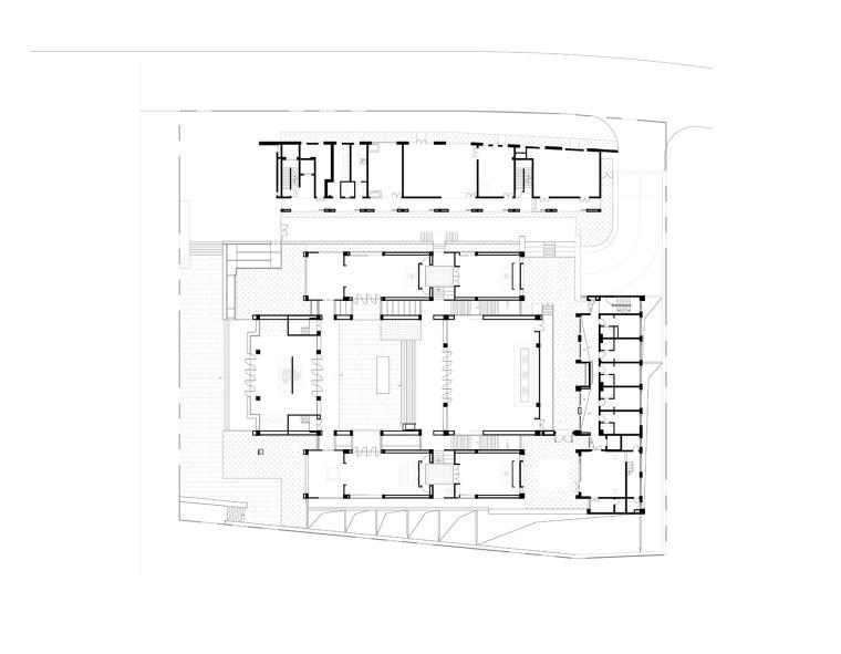 上海浦东国庆寺平面图2